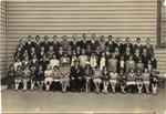 Pupils and teachers at the Diamond Jubilee Weston School.