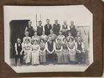Staff at woollen mills