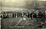 Turning 1st Sod Railway 1873