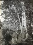 Two women in the bush