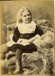 Studio portrait unidentified girl