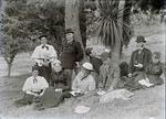 Reverend Algernon Gifford and family