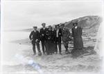 Group on the Beach at Kakanui [?]
