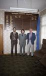 Past Waihemo County Clerks - G. D. Anderson, P. M. Willis, N. T. Farrell