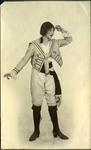 Unidentified woman in costume
