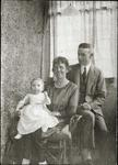 Alfred and Isabella Edwards with baby
