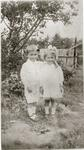 Boy and girl, unidentified