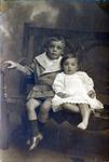 Children's portrait, unidentified