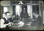 Staff in the Post and Telegraph Office, Oamaru