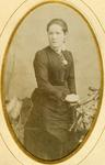 Studio portrait unidentified woman
