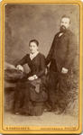 An unidentified young couple
