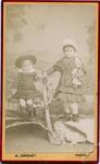 Two young unidentifed children