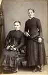 Two unidentified young women