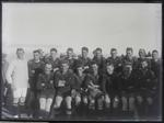 Rugby team photo unidentified