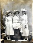 Portrait of three girls