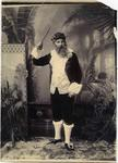 A man dressed in costume.