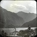 Man at Lake Bernard