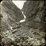 Mountain scene, unidentified.
