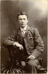 Portrait of an unidentified man.